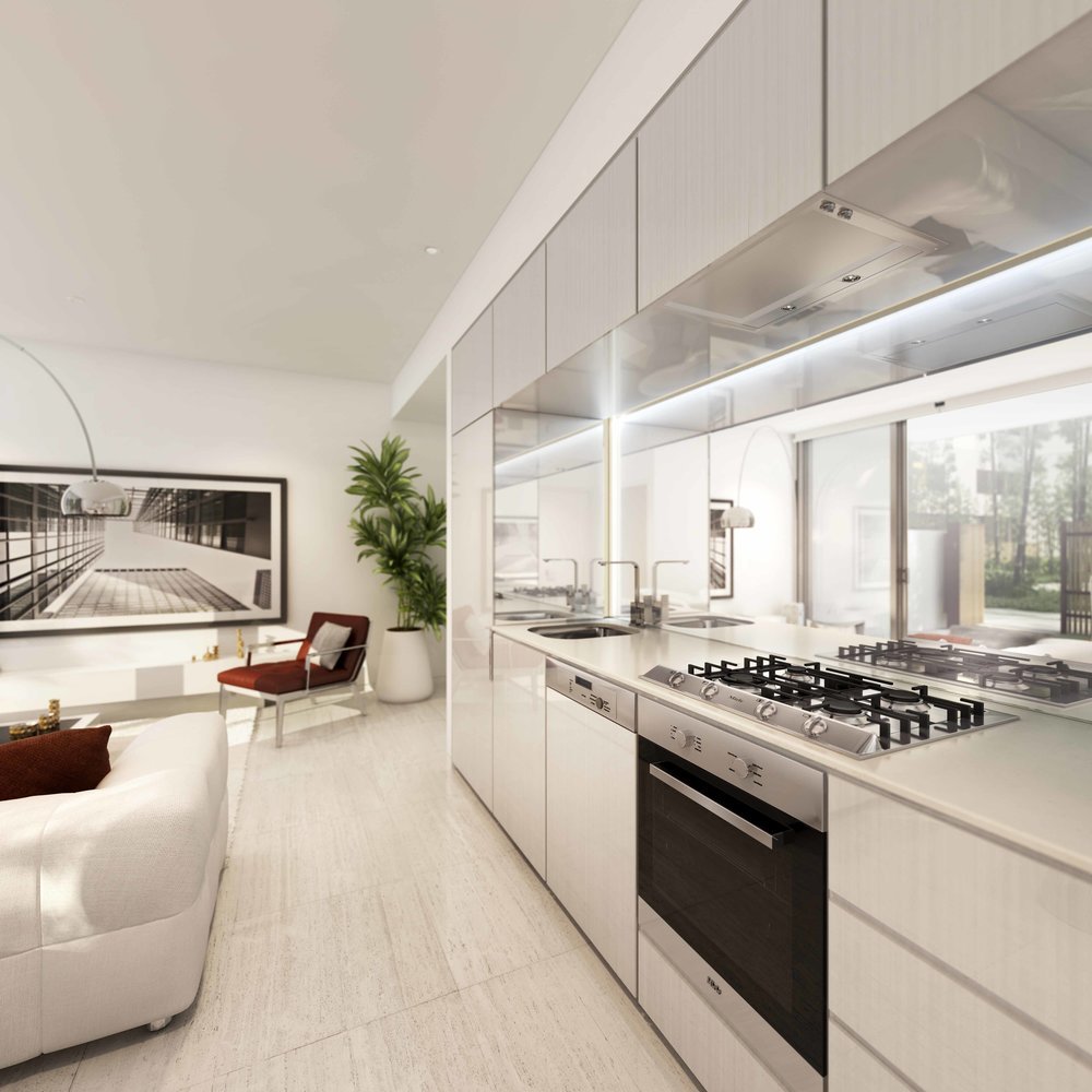 1 Bedroom - Kitchen 1 - Pearl.jpg