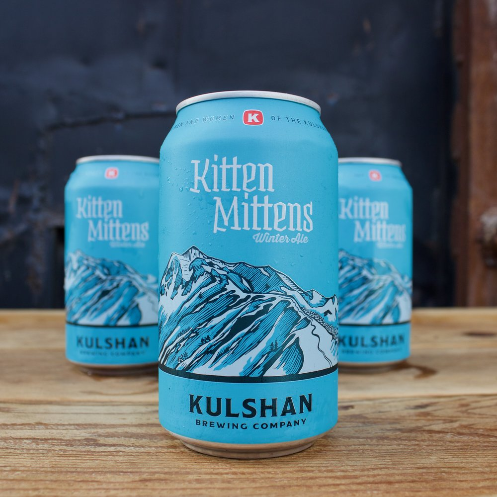 Kulshan Brewing Kitten Mittens