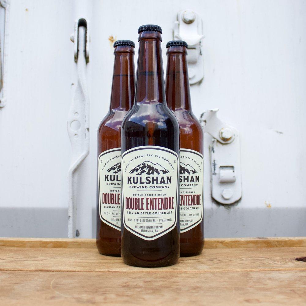 Kulshan Brewing Belgian-Style Golden Ale