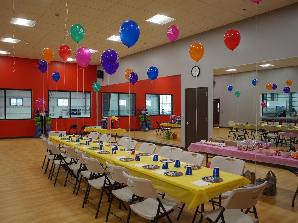 BIRTHDAY PARTIES Pinnacle Athletic Campus
