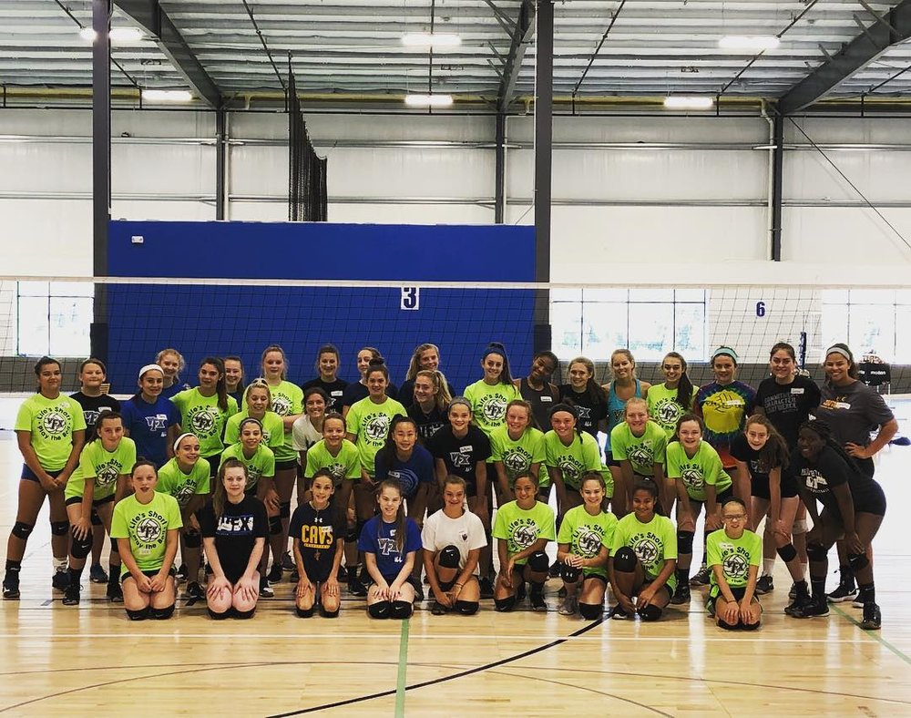 Camps and Clinics - Volley FX offers year round camps and clinic programming to CONSTANTLY hoan your game from November skills clinics to positional clinics in the winter and spring and summer camps throughout the summer we have programming for all seasons! Follow the link below for more information and REGISTRATION.