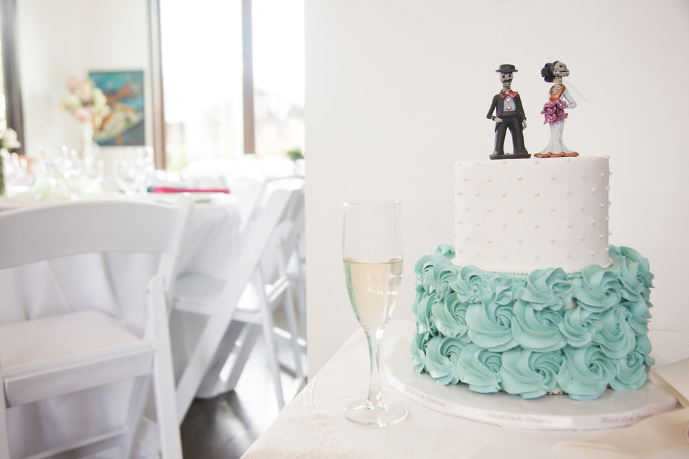 Cassandra & Michael  - Wedding Cake