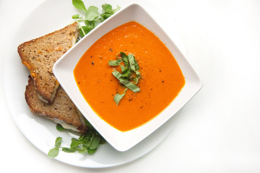 Vegan Tomato Soup   Barre Fitness Blog - Recipe HERE