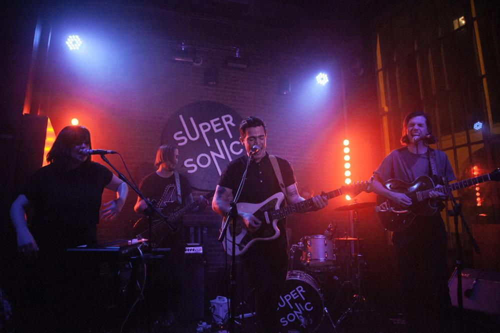 HIGHS   at  Super Sonic  Paris, France December 2016