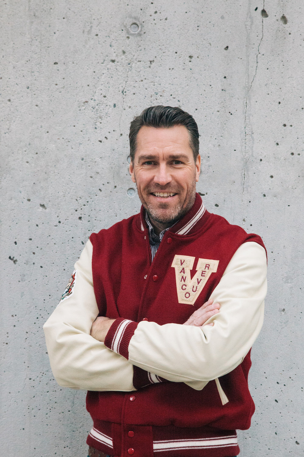 Vancouver Is Awesome has finally launched the Most Awesome Awards, so I can share some photos with you from what I was working on.  Here is Kirk McLean, former goalie for the Canucks,  who was honoured in THIS POST.    Click here to see more of the winners!
