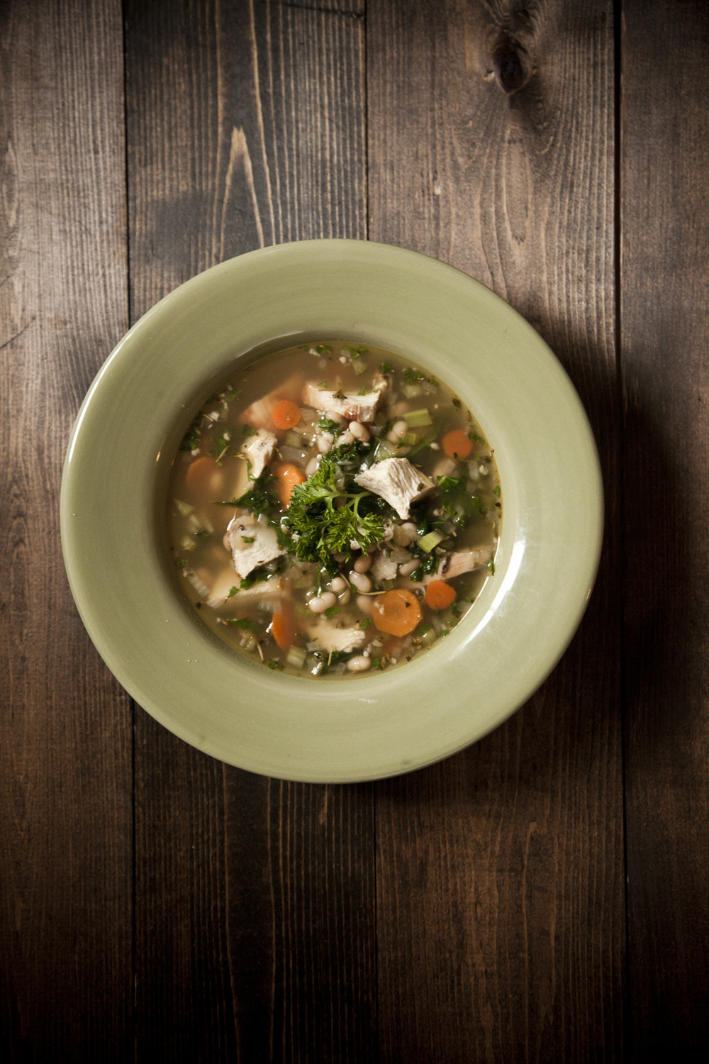 Doing a fitness challenge to start off the new year…including eating better.( Here's a post on that on VancouverIsAwesome.com )   Turkey Kale Soup pictured above -  recipe here .