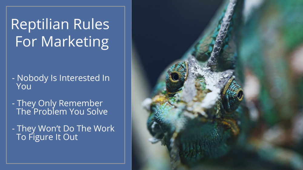 Three Rules for Marketing