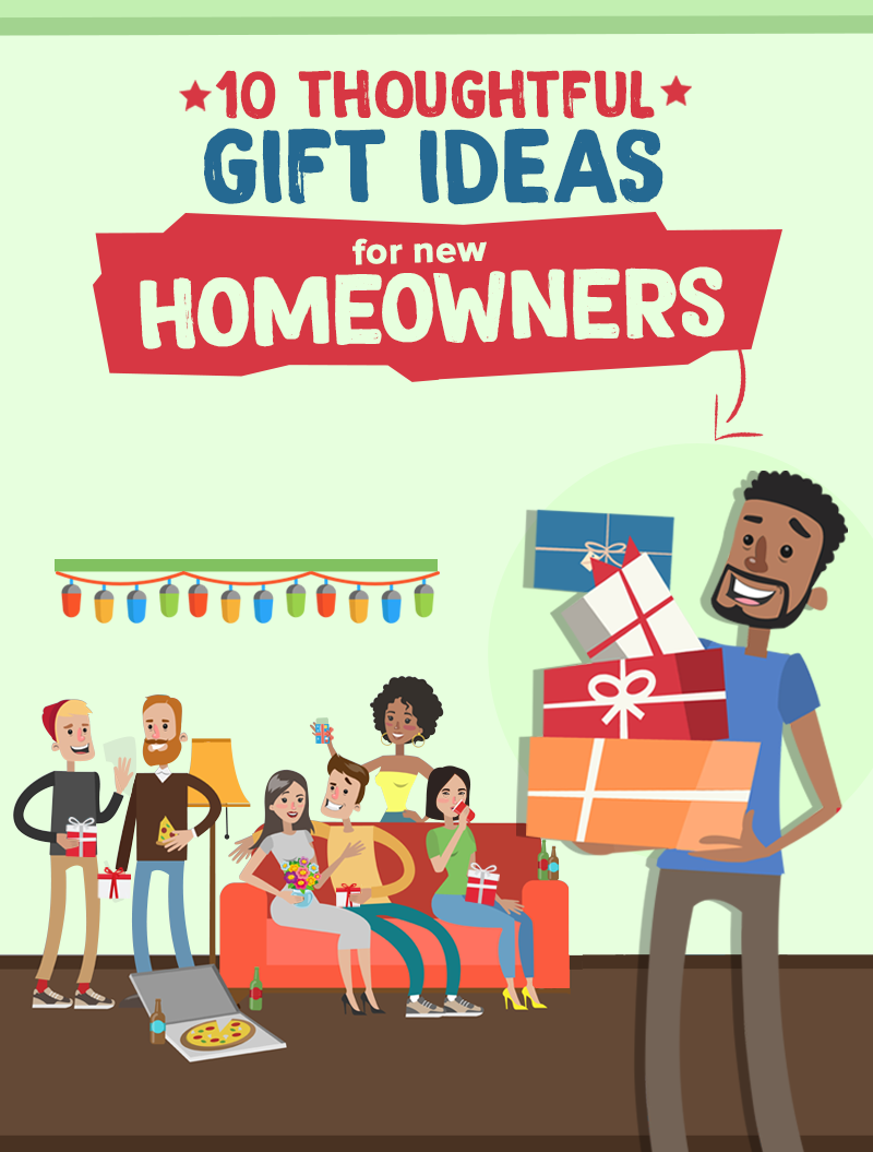 10 Thoughtful and Heartwarming Gift Ideas for First-time Homeowners