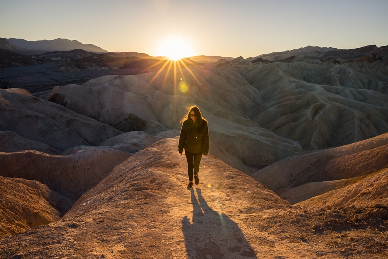 Explored Death Valley National Park in December.