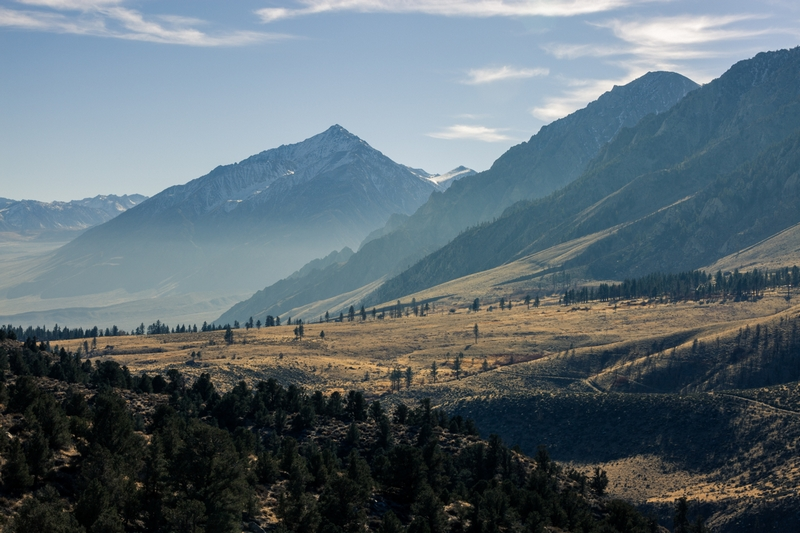 …then traveled to Bishop, California for Visit USA Parks to explore wintertime in the valley.