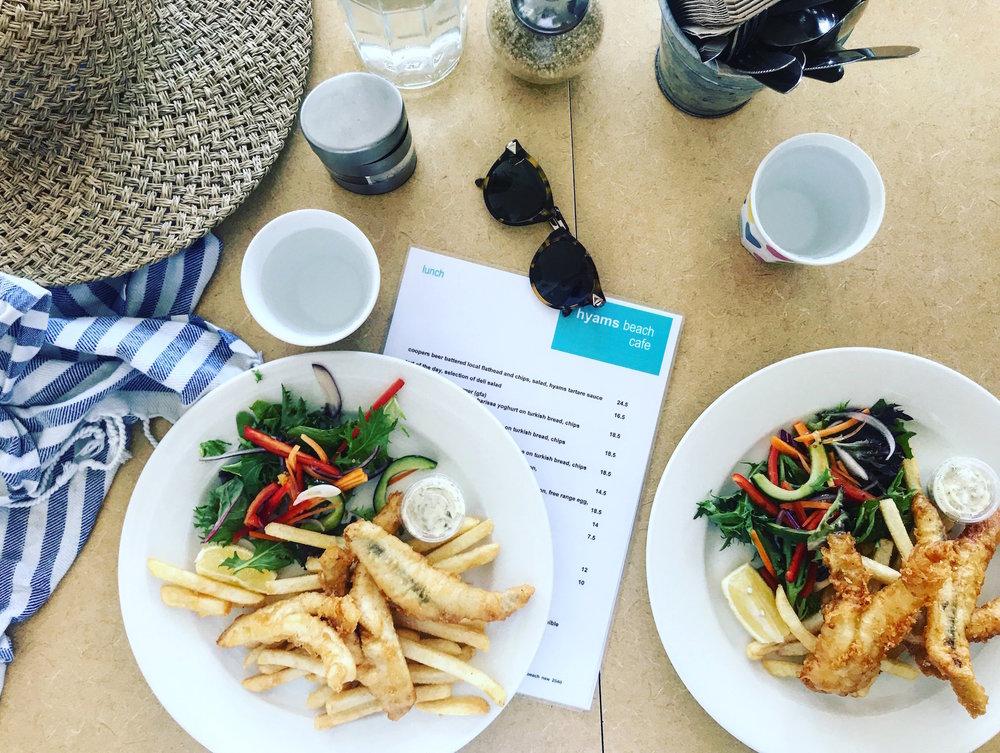 Hyams beach cafe