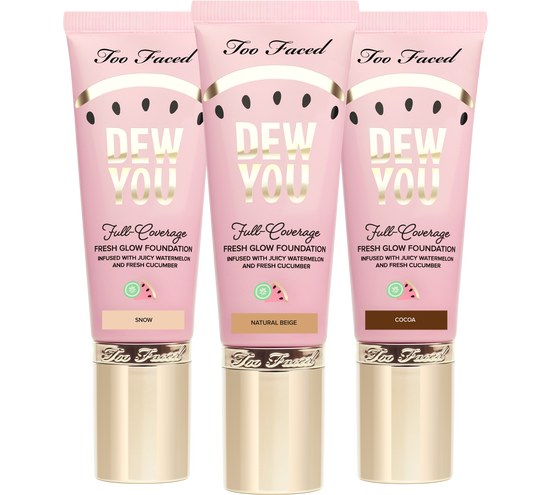 - Dew You Foundation-Amazing scent and creamy on the skin!
