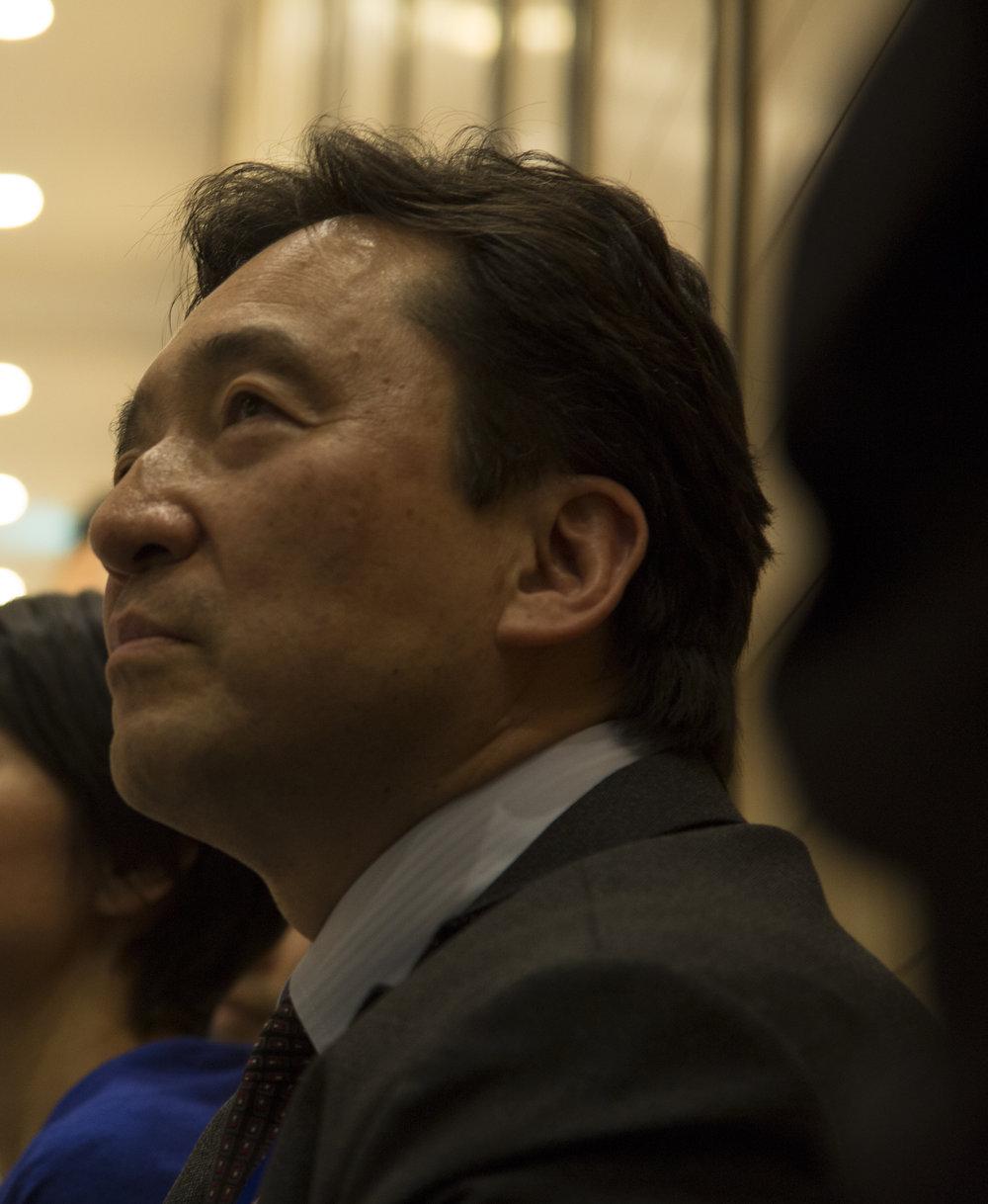 レグサム事務局長日本経済新聞社ゼネラル・プロデューサー山田康昭 - Chief Executive of REG/SUMGeneral Producer of NIKKEI INC.Yasuaki