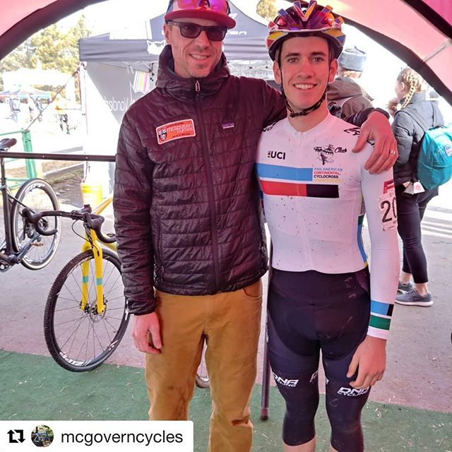 #Repost @mcgoverncycles with @get_repost ・・・ This is what @topclubcyclocross is all about.  @mctubbbin @benfordjason are committed to the progress of cyclocross and we can't do it without help.  Big thanks to @dnacycling @santacruzbicycles @bellbikehelmets @spokesmanbicycles @sramroad @ridehifi #bayareamachinist @sidicycling #Oakley @donnelly_cycling #cycleutioncoaching @envecomposites @donkeylabel . give us @topclubcyclocross a follow, check out the website help us grow this #pipeline