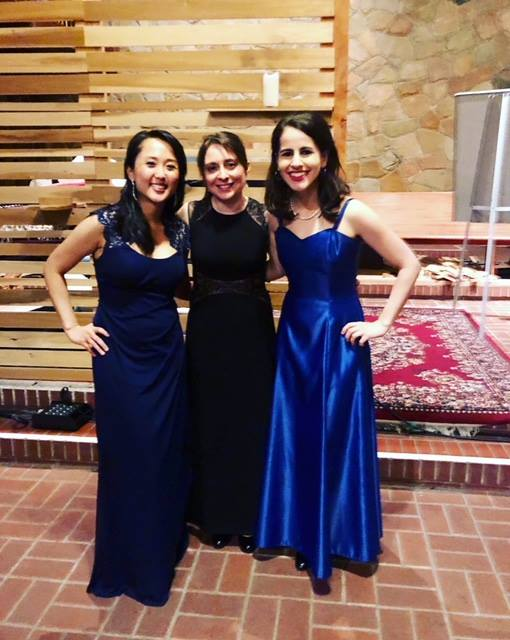 Thank you Trinity Concerts in Berkeley for hosting us! What amazing acoustics in the hall!  March 9, 2019