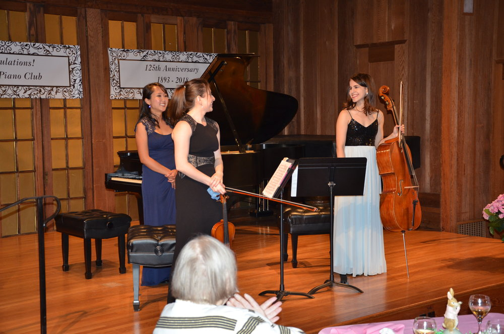 Great private concert for Four Seasons Arts.  April 13, 2019