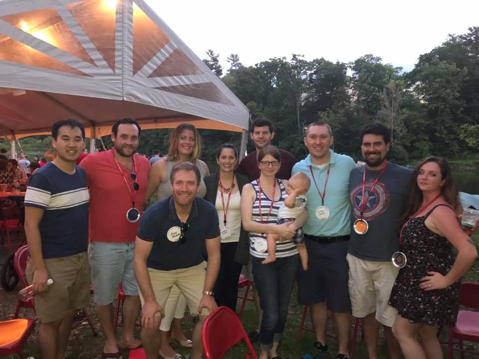 Alumni Celebrate Reunion at Beebe Lake