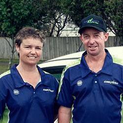 Waikato lawn mowing crew
