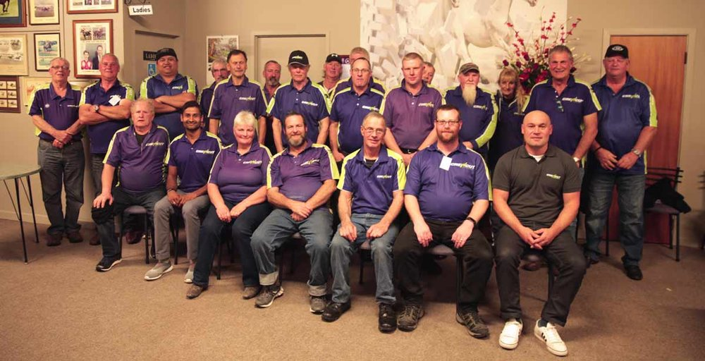 The Manawatu Crewcut team have regular meetings