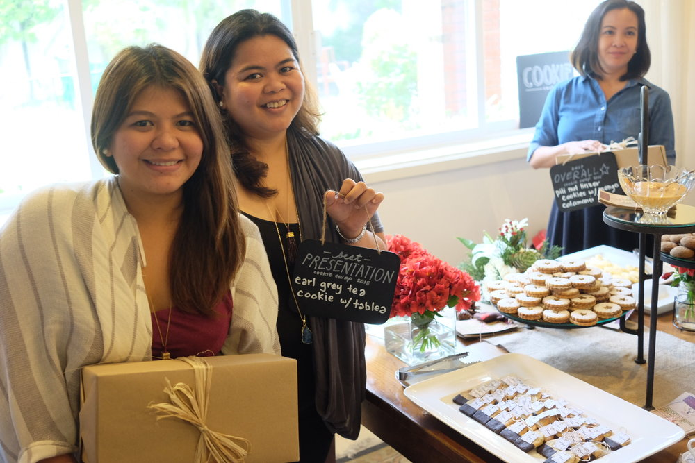 Best Presentation winners: Lady and Steph Badoy of Boqueria Lifestyle Market. -