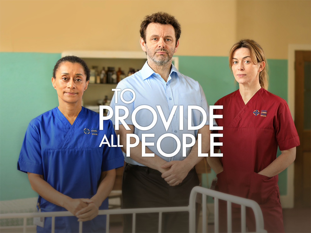 'To Provide All People' to air next week!  - 'To Provide All People - a film poem in the voice of the NHS' written by Owen Sheers, directed by Pip Broughton, and featuring an all-star cast including Michael Sheen, Eve Myles, Martin Freeman, Meera Syal, and many more, will premiere on Thursday 28th June at 9pm on BBC One Wales, followed by a a nationwide airing on BBC2 on Saturday 30th June at 8pm. Click here to watch the trailer!