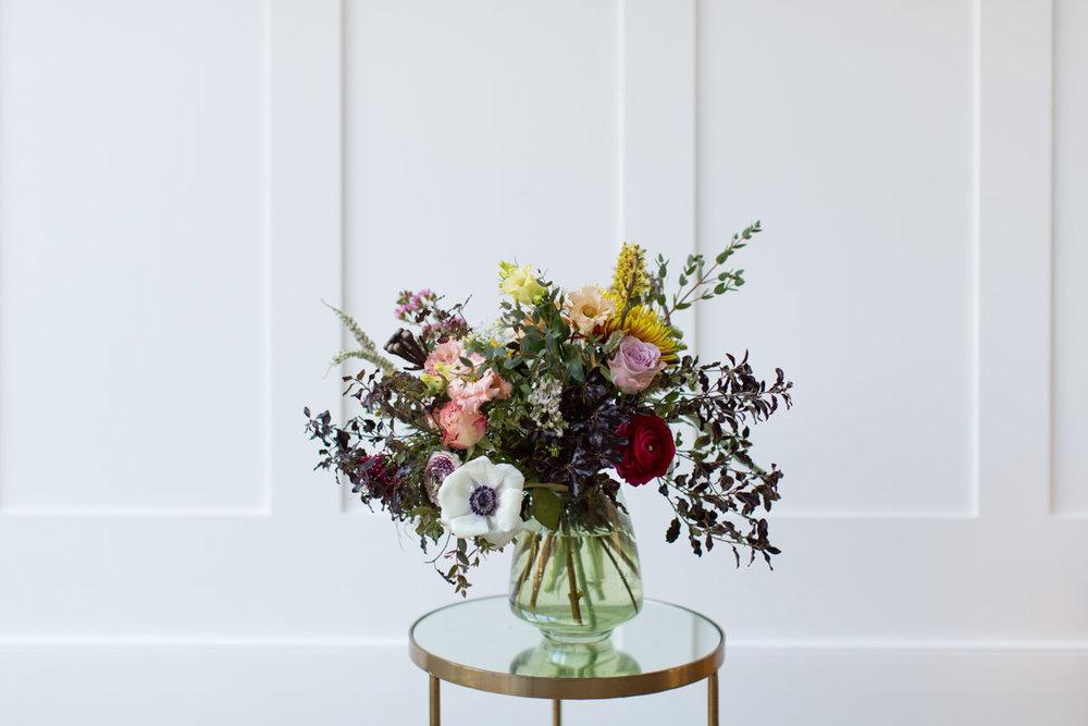 Pretty floral display