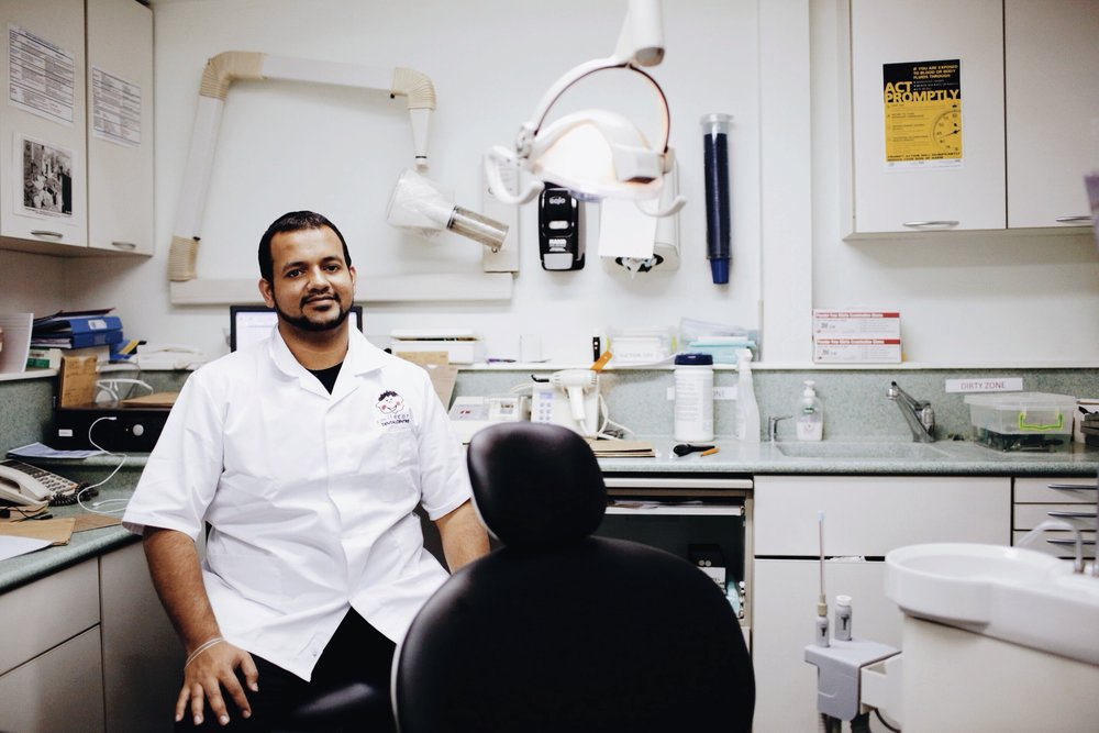 Today I went to the dentist, I've had a lump on my gum for some time. Hussein took an X-ray and said everything looked fine before giving me a local anaesthetic and giving the lump some exploratory poking and my teeth a clean. I asked him what was the best thing about his job and he said 'I like that I change lives with the small things'.