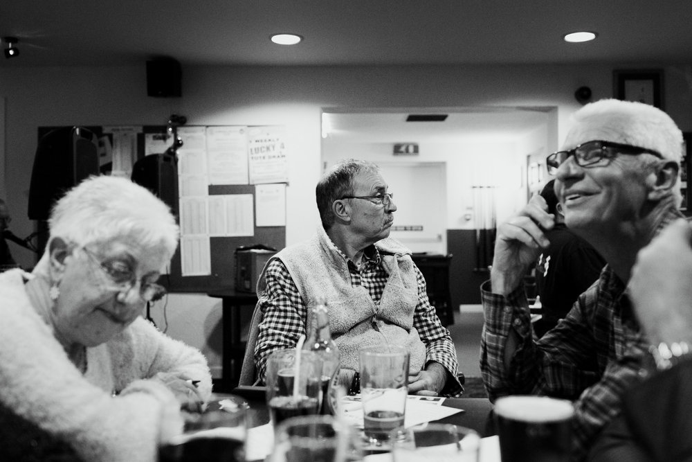 December 2014 Having dementia can make it difficult to take part and enjoy things like you once did. Dad used to love pub quiz. He often seems lost in his own world now, and it must be very isolating for him.
