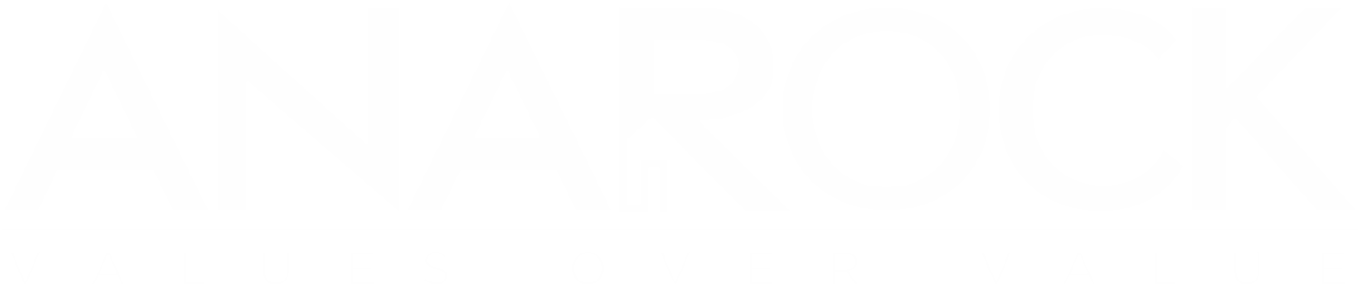 Anarock - Values Over Value