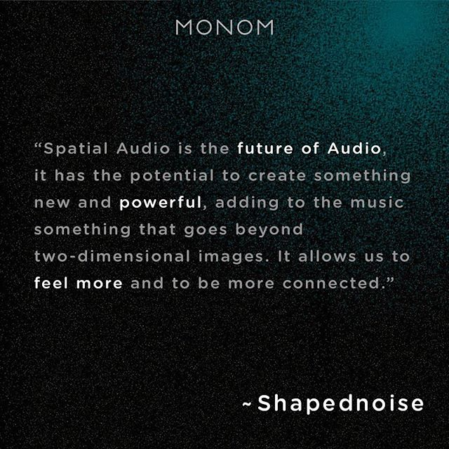 "This Friday Shapednoise will present his spatial composition on the 4DSOUND system at the album release of Lotic's ""Power"". ✨Come and join the celebration at the MONOM studio. 🚀 Follow the link in our bio for tickets."