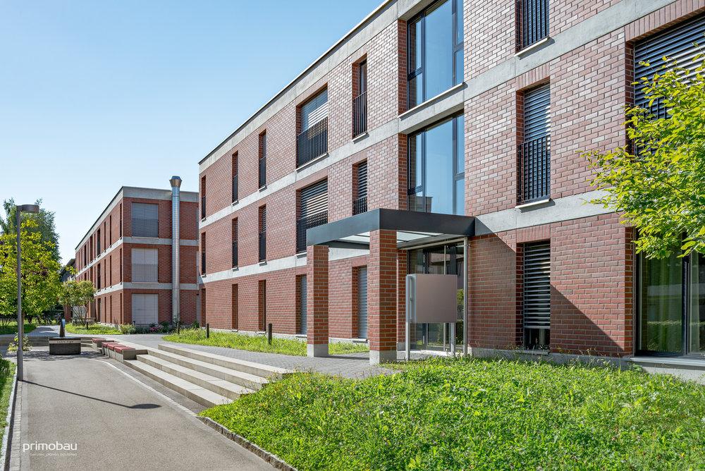 Siedlung Malojaweg, Zürich Altstetten  Neubau, 85 Wohnungen