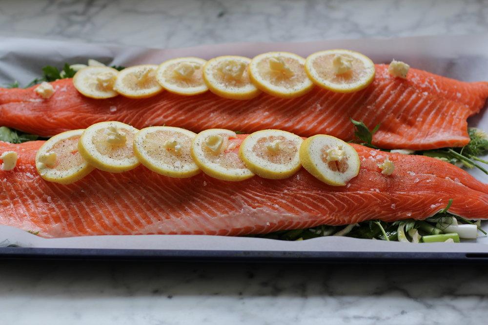oven ready salmon