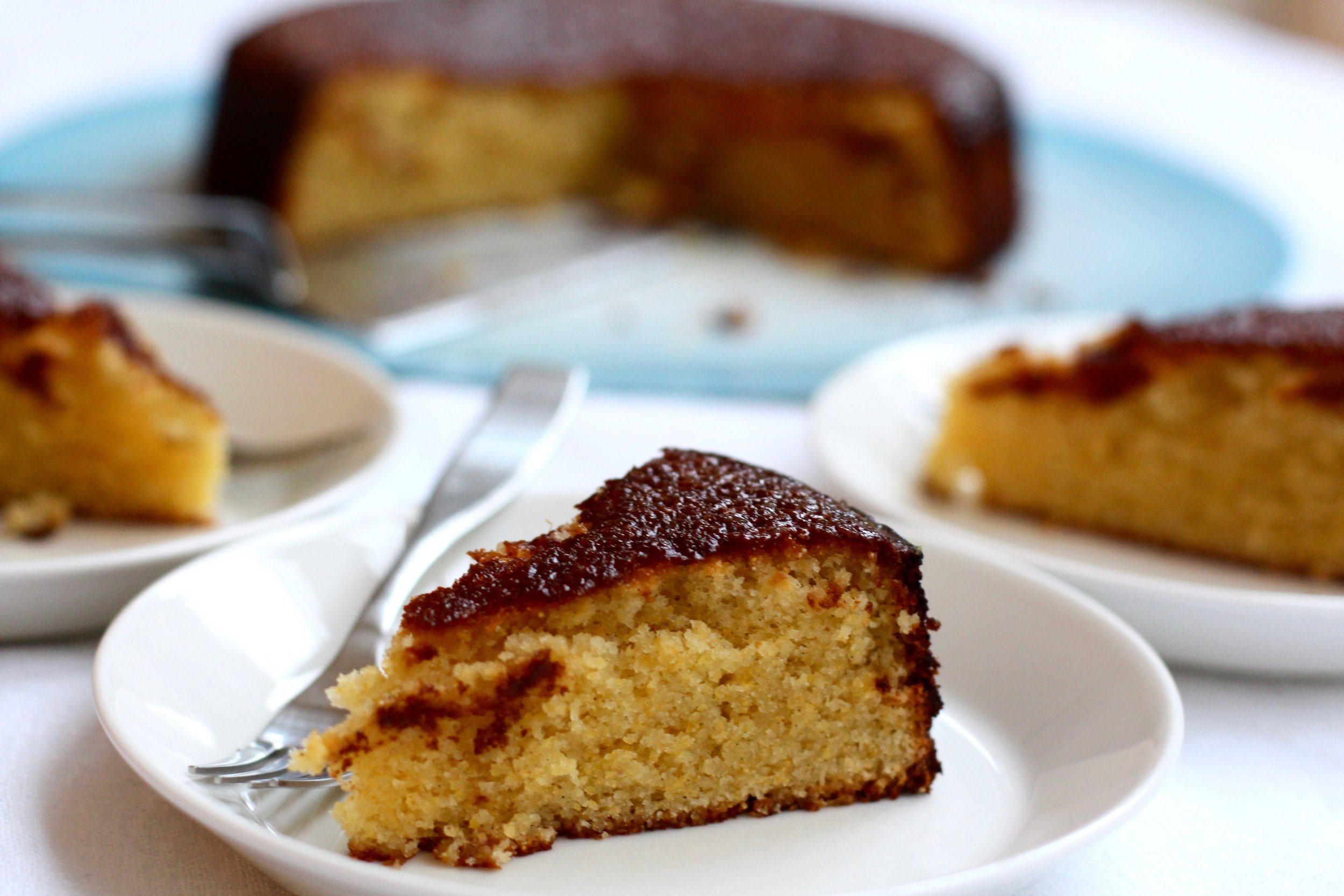 Lemon Olive Oil Polenta Cake (and a few baking tips) — Building Feasts