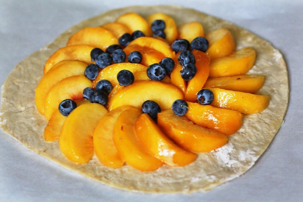 fruit galette three ways
