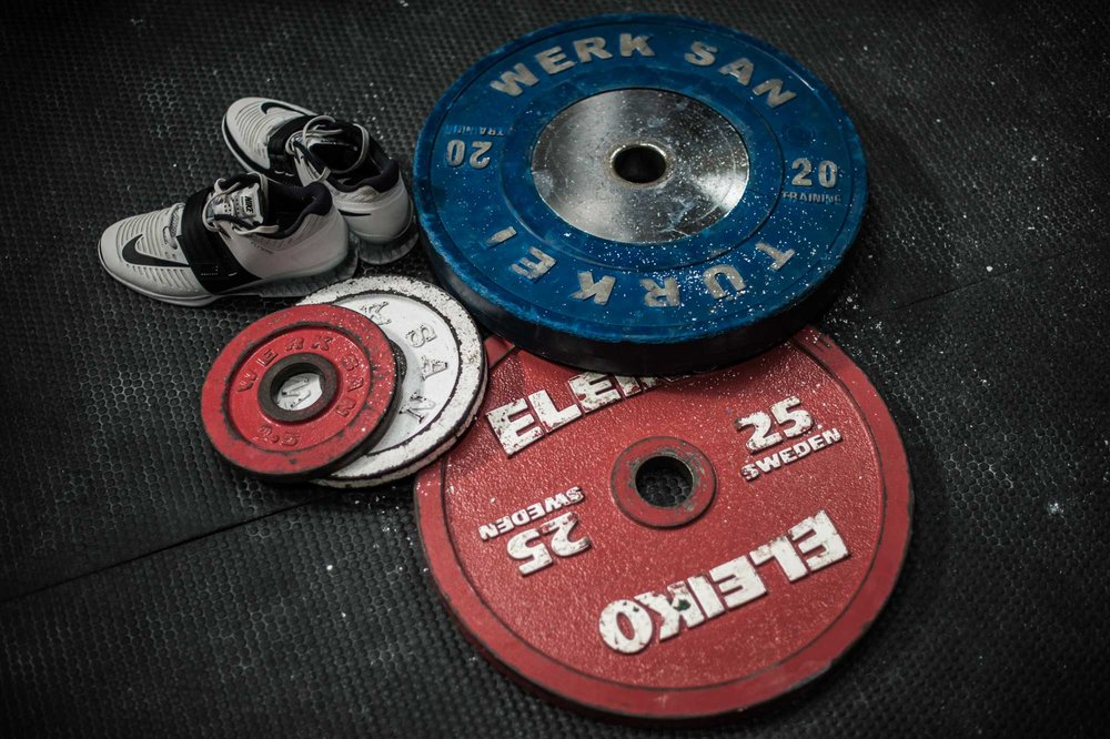 POWERLIFTING - Eliko powerlifting plates1x Jerk Blocks2x Competition benchesCompetition platform