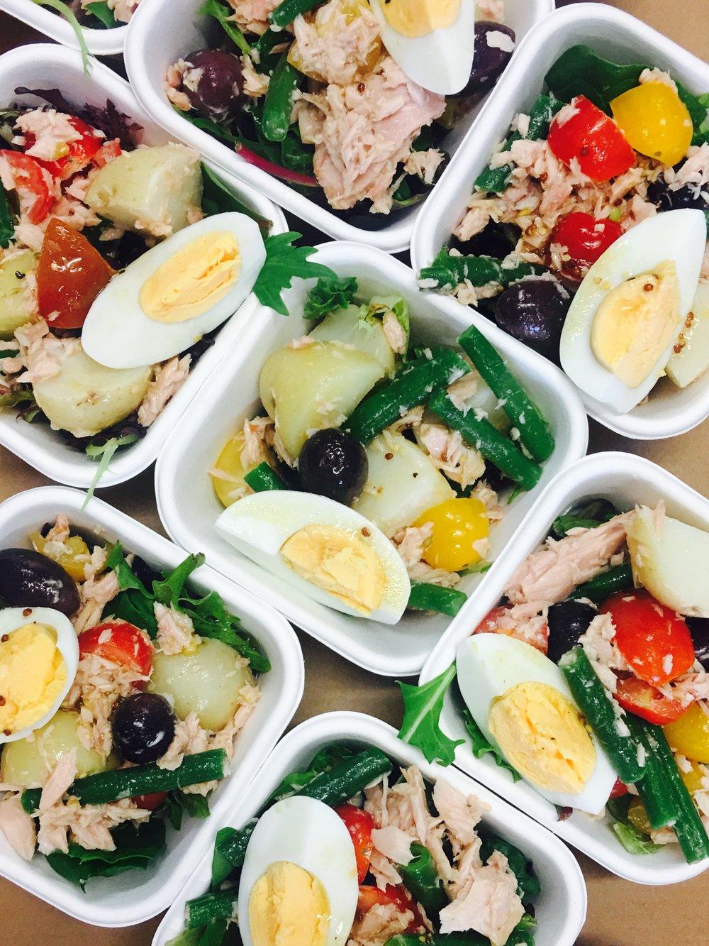 Nicoise Salad Bowls