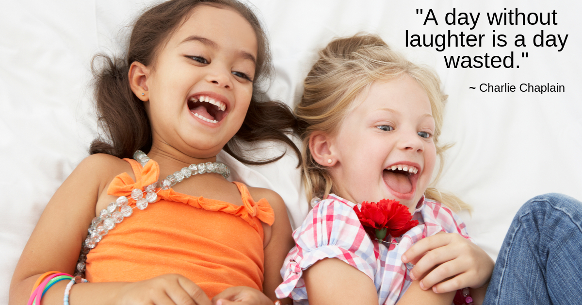 Laughter is the best medicine — The Primary Years