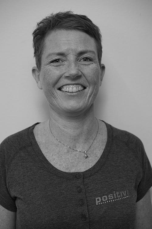 Lene Gadsbøll - Utdannet fra Axelsons Body Work School. Jobbet som massasjeterapeut siden 2007, erfaring fra klinikk og som terapeut ute i bedrifter.