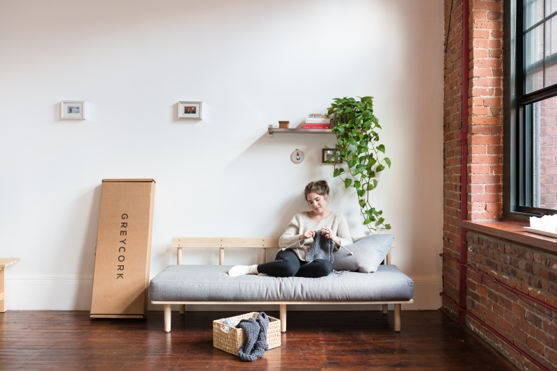 American Furniture Brand Greycork Has Launched A Set Of Quick Assembly  Flat Pack Furniture Collection To Rival IKEA. The Japanese American Style  Collection ...