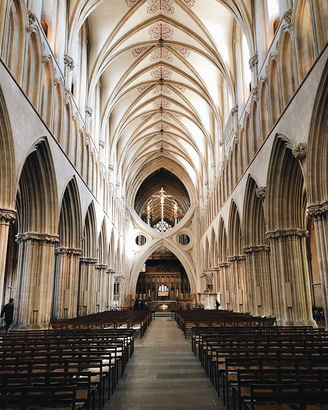 Wells Cathedral: well worth a visit!