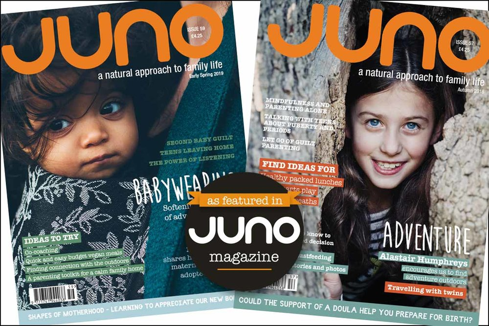 Read my articles in Juno Magazine -