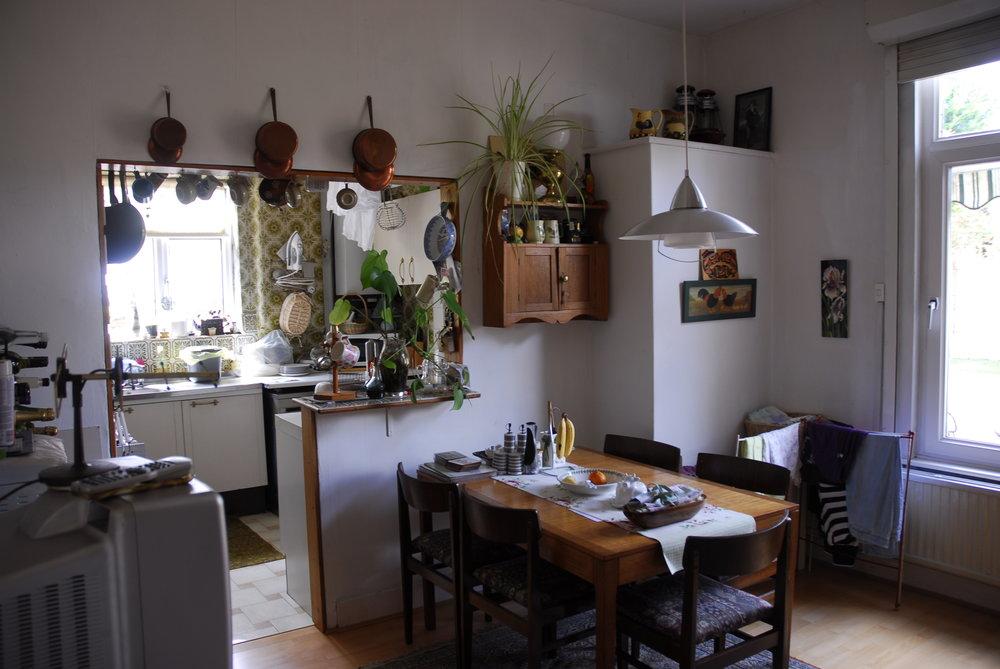 The err.. kitchen