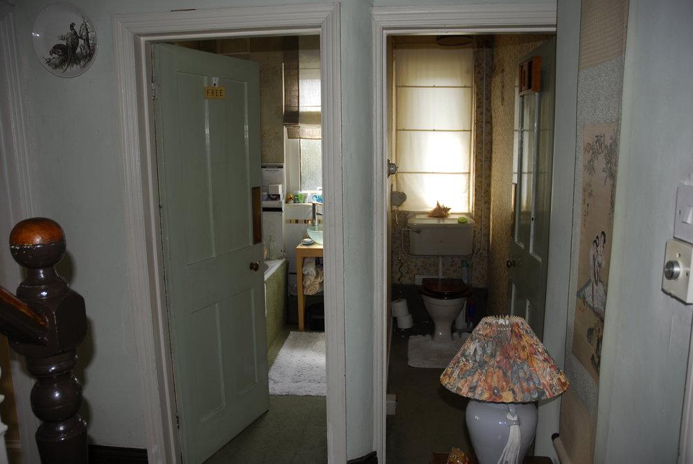 Um. The bathroom