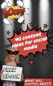 40 social media content ideas