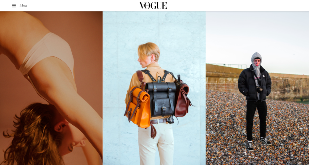 PhotoVogue featuring BennyBee and MariaSvarbova
