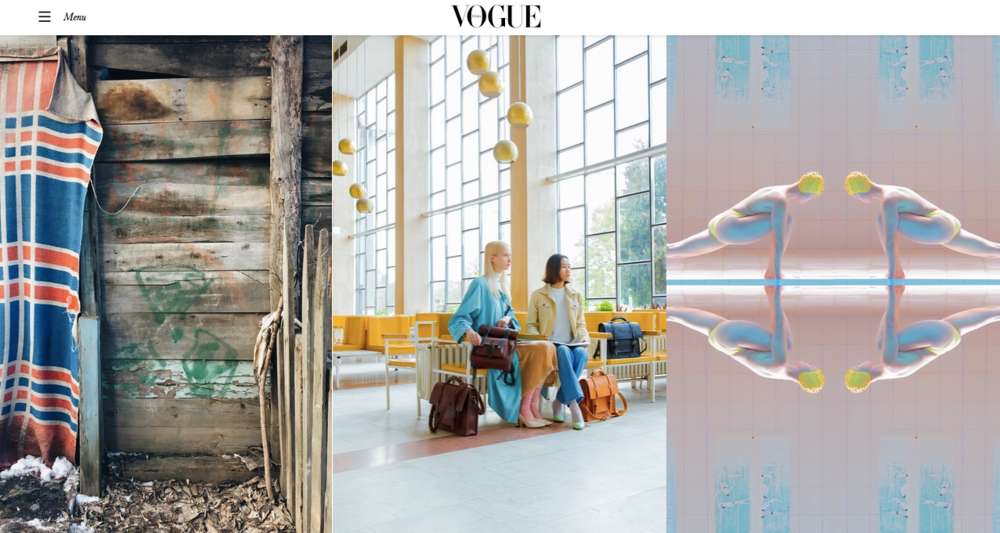 Vogue featuring BennyBee and Maria Svarbova