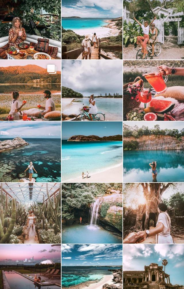 Australia travel influencer
