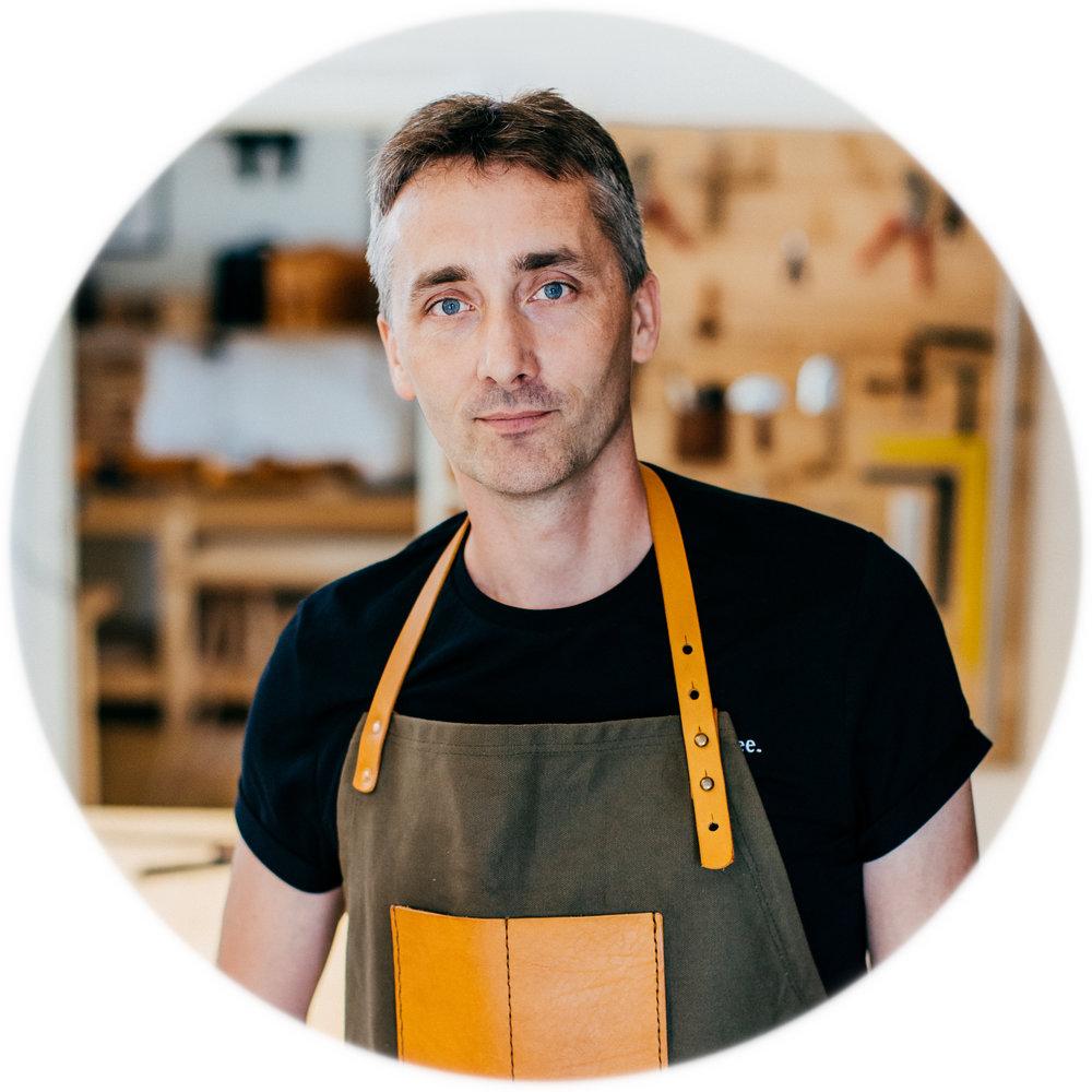 Robert, BennyBee craftsman