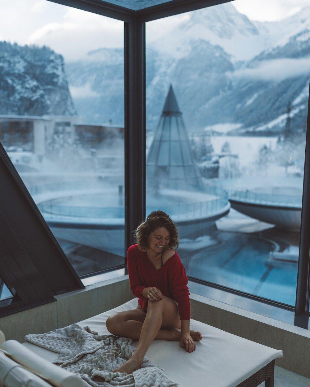 Aqua Dome Austria by Carmen Huter