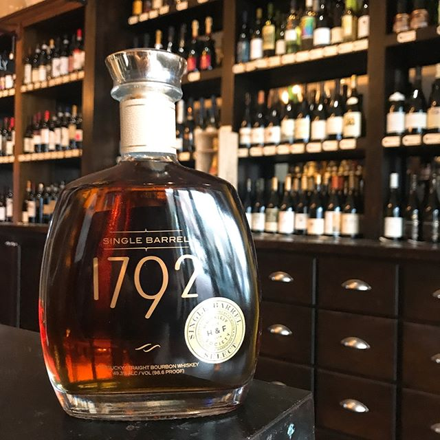 It's back! Our H&F Whiskey Society Select Barrel of 1792 is back in the Shop. The 1792 bottles express their distinct flavor profile with a high-rye content that is tamed with vanilla and oak just enough to leave floral notes on this bold Single Barrel Bourbon.
